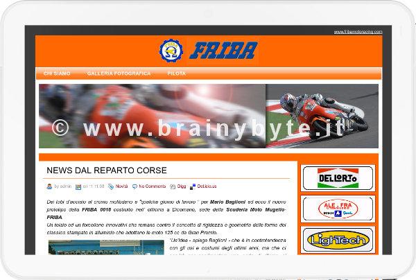 Sito Web Per Associazione Motociclistica A Firenze