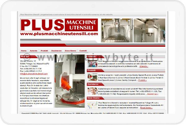 Sito Web Per Azienda Di Macchine Utensili A Firenze