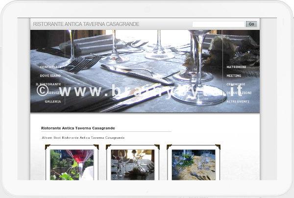 Sito Web Per Ristorante A Figline (Firenze)