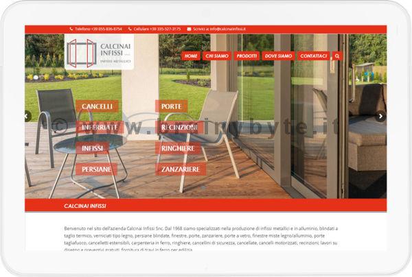 Sito Web Per Azienda Di Infissi Metallici A Pontassieve