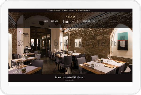 Sito Web Per Ristorante In Centro A Firenze