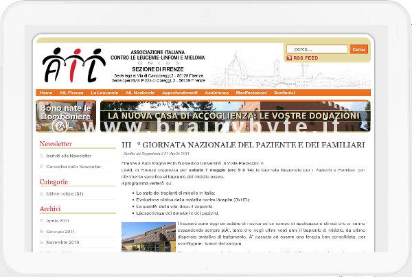 Sito Web Per Associazione Onlus A Firenze
