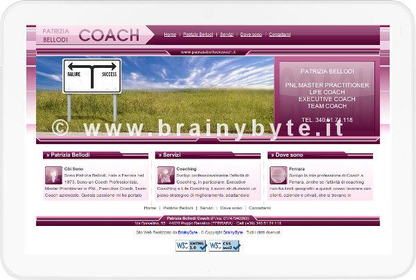 Sito Web Per Servizi Di Coaching A Ferrara