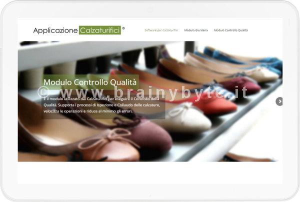 Sito Web Per Software Calzaturifici A Prato