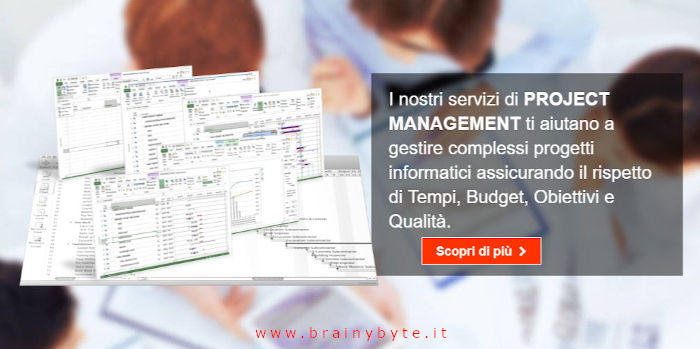 Project Manager a Firenze, Pontassieve