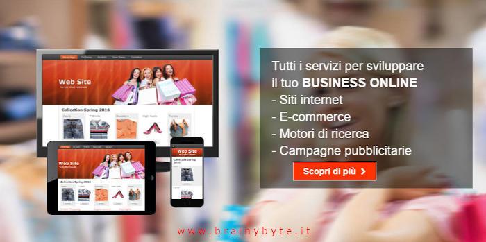 Realizzazione siti web ecommerce a Firenze, Pontassieve