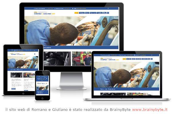 Il Sito Web Di Romano E Giuliano è Stato Realizzato Da Www.brainybyte.it