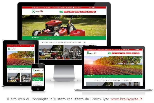 Il Sito Web Di Rosamagitalia è Stato Realizzato Da Www.brainybyte.it