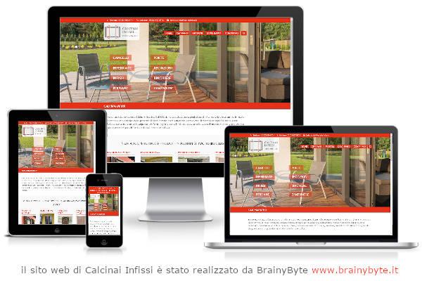 Il Sito Web Di Calcinai Infissi è Stato Realizzato Da Www.brainybyte.it
