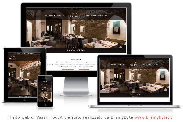 Il Sito Web Di Vasari FoodArt è Stato Realizzato Da Www.brainybyte.it