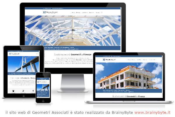 Il Sito Web Di Geometri Associati è Stato Realizzato Da Www.brainybyte.it
