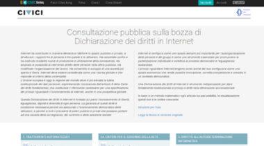 La Dichiarazione Dei Diritti In Internet